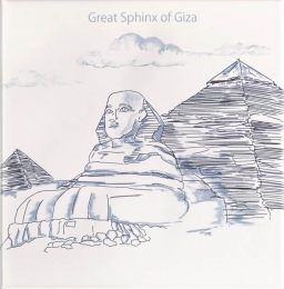 Ondulado Decor World-1 Great Sphinx of Giza