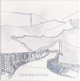 Ondulado Decor World-1 Great Wall Of China