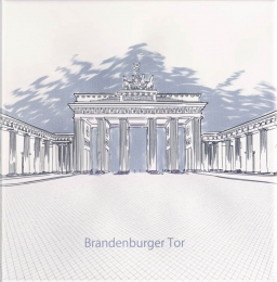Ondulado Decor World-2 Brandenburger Tor