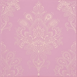 Paisley Decor Rosa Palo