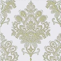 Paisley Decor Blanco