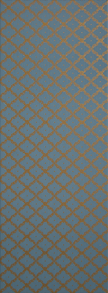 Плитка Bellini Decor-1 Blue 25x70