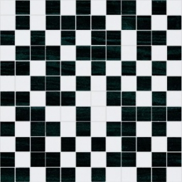 Fortune Mosaico White-Black
