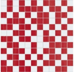 Fortune Mosaico White-Red