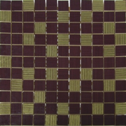 Mosaico Elegance Bordo Gold