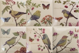 Bird Decors 6pz