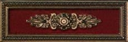 P17039 Lirica Bordeaux Decor Cornice