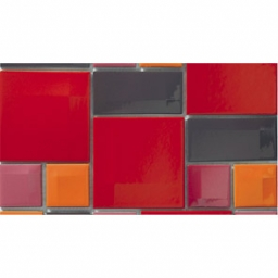 K5400918 Day-To-Day Red Mix Glossy