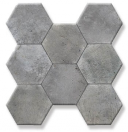 Плитка Pav. Hexagonal Cement Gris