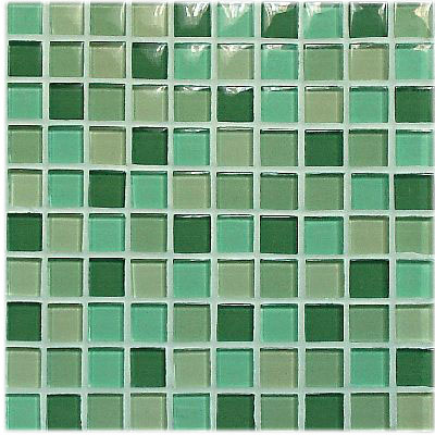 Green Glossy Mix (2323) 30x30
