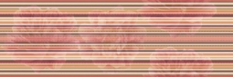 Decor Lines Savage Flowers Marron